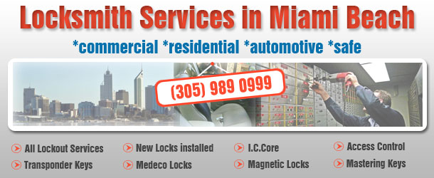 Locksmith Miami Beach